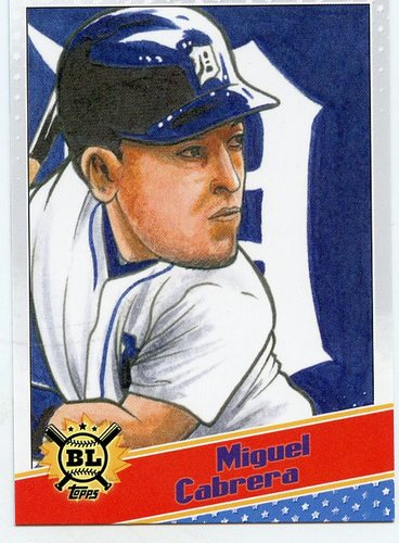 Photo of 2020 Topps Big League Star Caricature Reproductions #SCOMC Miguel Cabrera