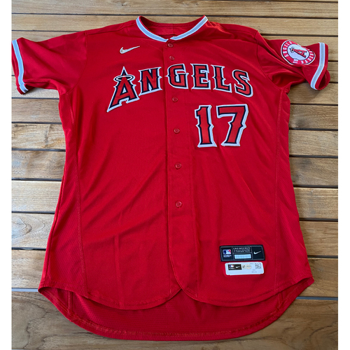 Shohei Ohtani Game-Used Jersey from the 9/25/20 Game vs. LAD - Size 48TC