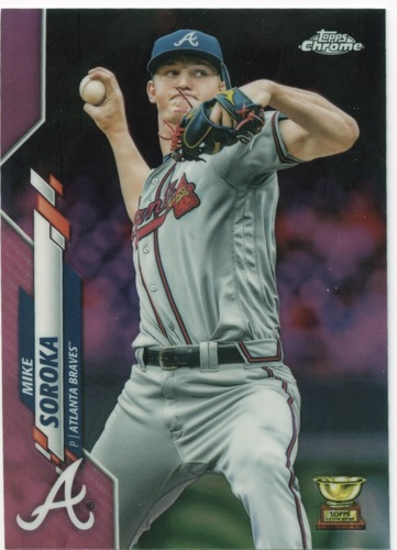 Photo of 2020 Topps Chrome Pink Refractors #96 Mike Soroka