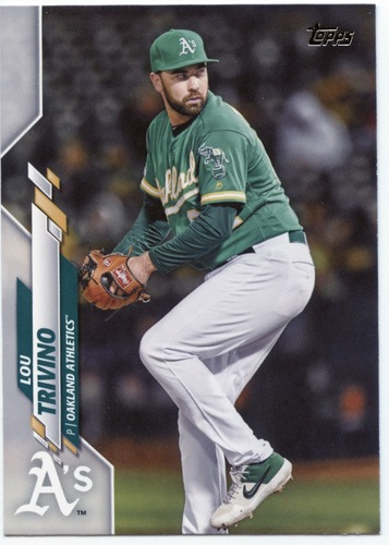 Photo of 2020 Topps #587 Lou Trivino
