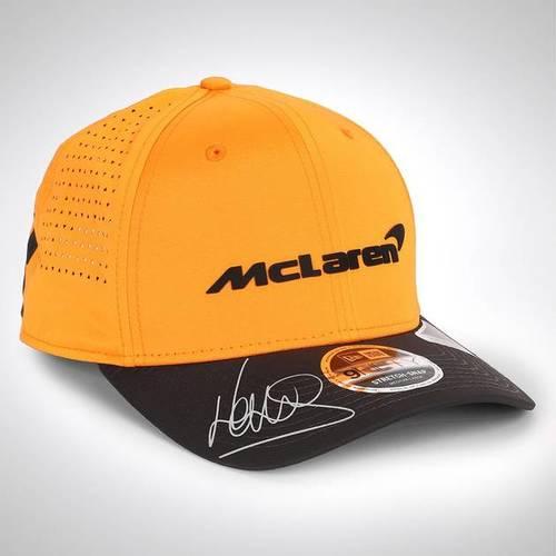 Photo of LANDO NORRIS 2020 SIGNED MCLAREN CAP