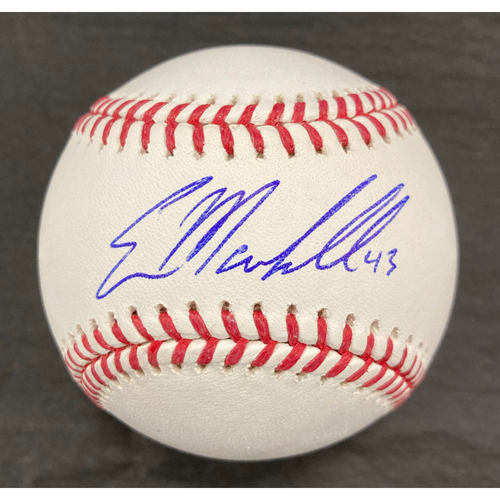 Photo of Evan Marshall Autographed Baseball