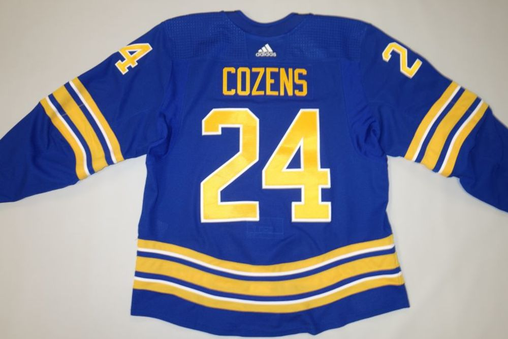 Dylan Cozens 2020-21 Buffalo Sabres Set 1 Home Jersey