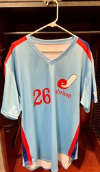 Photo of Jacksonville Expos Fauxback Jersey #26 Size 48