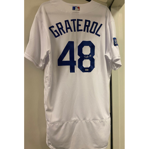 Photo of Brusdar Graterol Authentic Autographed Jersey