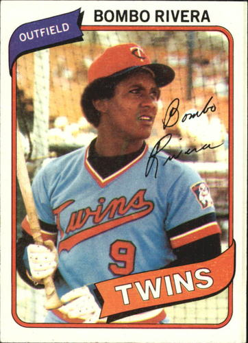 Photo of 1980 Topps #43 Bombo Rivera