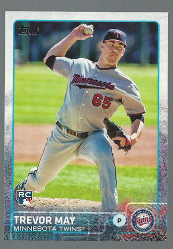 Photo of 2015 Topps #55 Trevor May RC