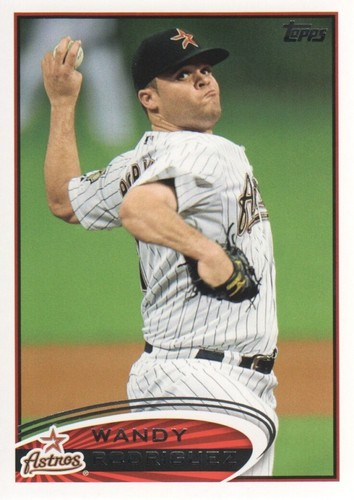 Photo of 2012 Topps #382 Wandy Rodriguez