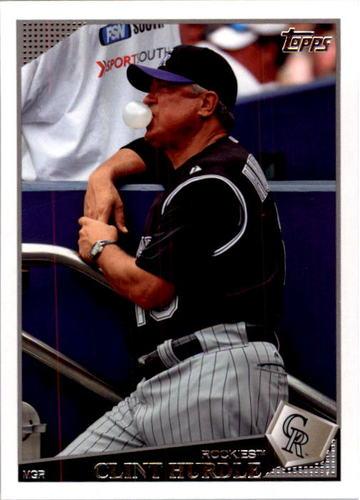 Photo of 2009 Topps #497 Clint Hurdle MG