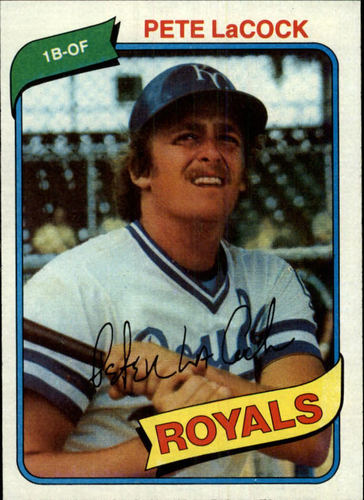 Photo of 1980 Topps #389 Pete LaCock