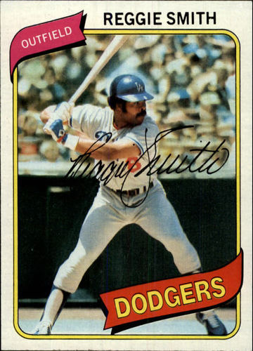 Photo of 1980 Topps #695 Reggie Smith
