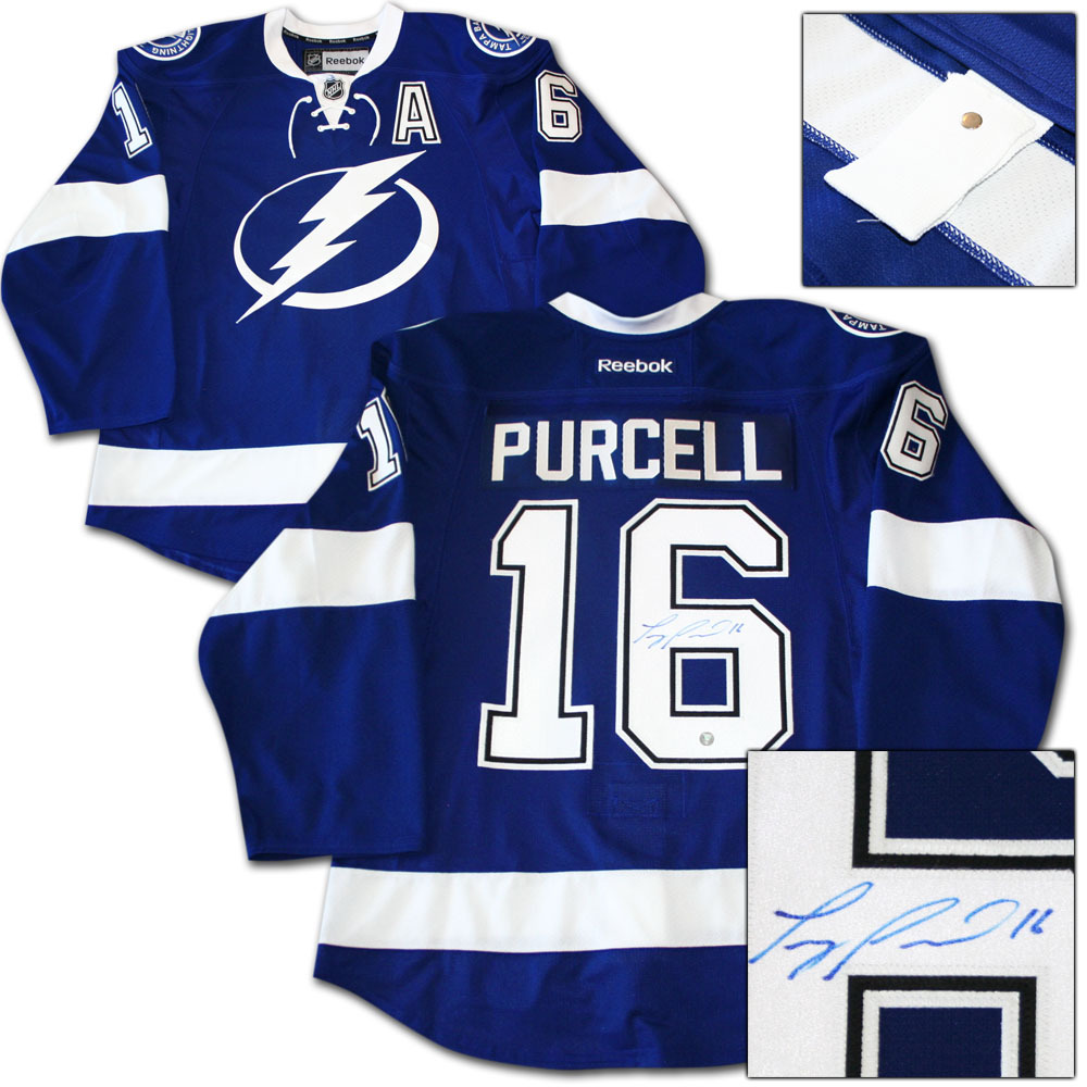 Teddy Purcell Autographed Tampa Bay Lightning Authentic Pro Jersey