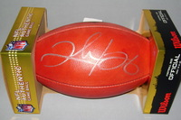 NFL - REDSKINS CLINTON PORTIS SIGNED AUTHENTIC FOOTBALL