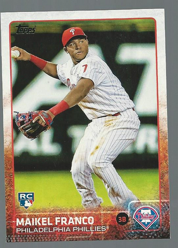 Photo of 2015 Topps #309 Maikel Franco Rookie Card
