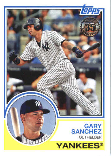 Photo of 2018 Topps '83 Topps #8374 Gary Sanchez
