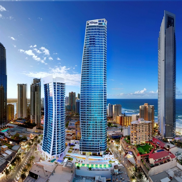 Click to view Surf's Up at Hilton Surfers Paradise.