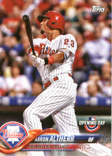 Photo of 2018 Topps Opening Day #181 Aaron Altherr