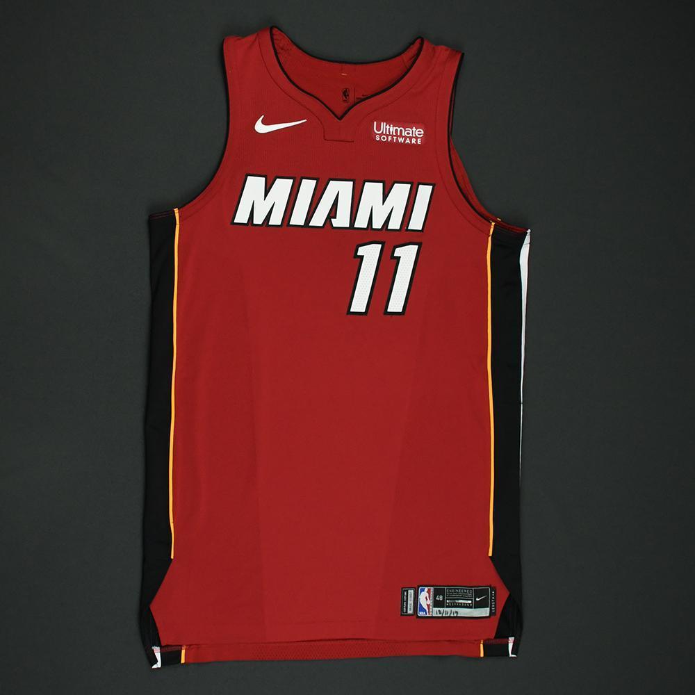Dion Waiters - Miami Heat - Game-Worn 'Statement' Jersey - 2017-18 Season