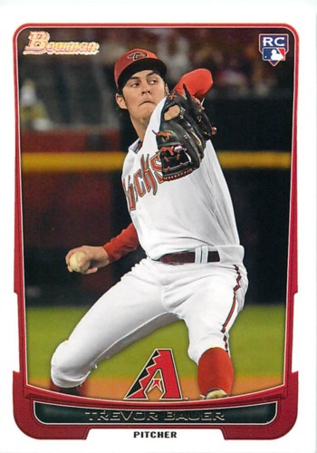 Photo of 2012 Bowman Draft #1 Trevor Bauer RC