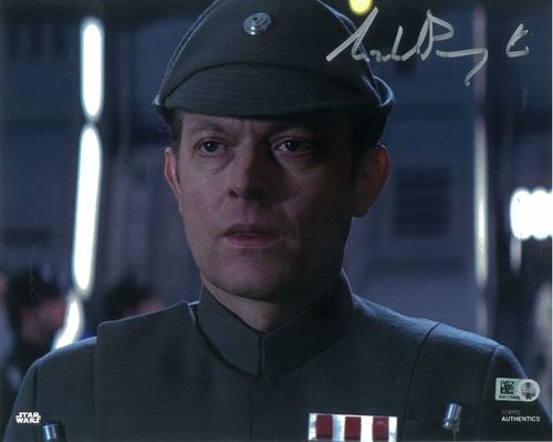 PREORDER Michael Pennington As Moff Jerjerrod 8x10 Autographed in Silver Ink