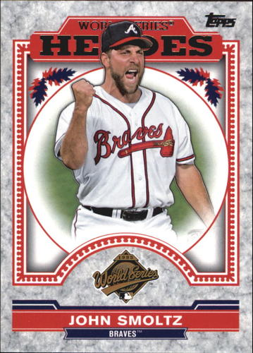 Photo of 2014 Topps Update World Series Heroes #WSHJS John Smoltz