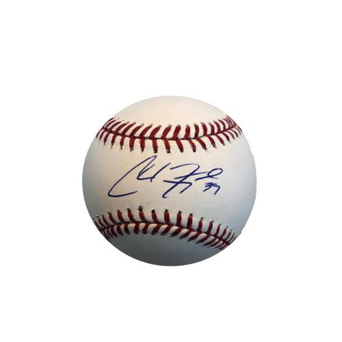 Photo of Chad Kuhl Autographed Baseball