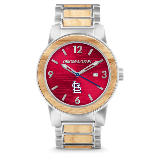 Photo of St Louis Cardinals Reclaimed Baseball Bat Watch