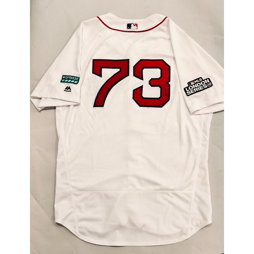 2019 London Series - Game-Used Jersey - Mike Shawaryn, New York Yankees vs Boston Red Sox - 6/29/19
