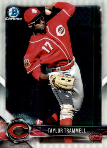 Photo of 2018 Bowman Chrome Draft #BDC22 Taylor Trammell