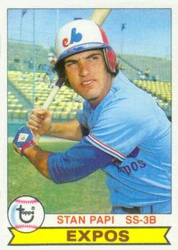 Photo of 1979 Topps #652 Stan Papi RC