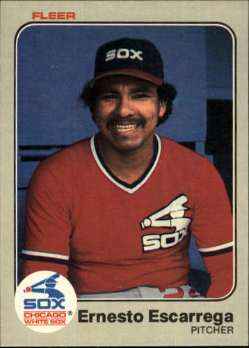 Photo of 1983 Fleer #234 Ernesto Escarrega