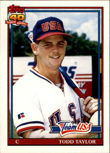 Photo of 1991 Topps Traded #116T Todd Taylor USA RC