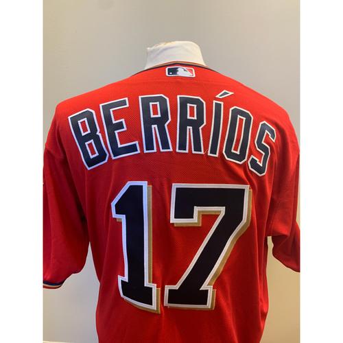 Photo of Minnesota Twins - 2019 Game-Used Spring Training Jersey - Jose Berrios
