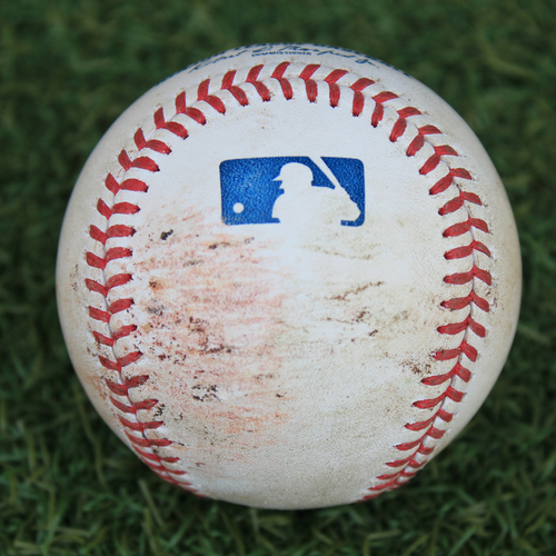 Game-Used Baseball: Triston McKenzie 19th Career Strikeout (CLE @ KC 9/2/20)