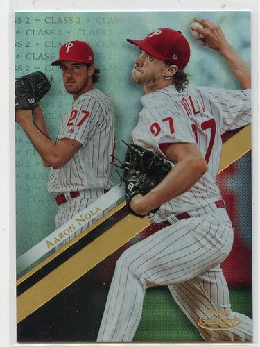 Photo of 2019 Topps Gold Label Class 2 #51 Aaron Nola