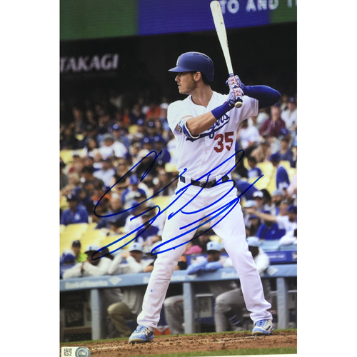 Photo of Cody Bellinger Authentic Autographed Photograph