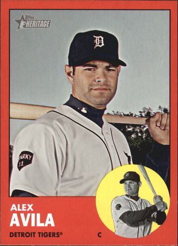 Photo of 2012 Topps Heritage #224B Alex Avila TAR SP