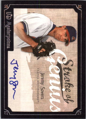 Photo of 2007 UD Masterpieces Stroke of Genius Signatures #SO Jeremy Sowers