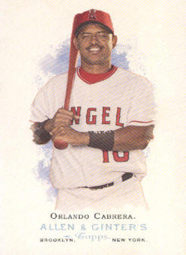 Photo of 2006 Topps Allen and Ginter #110 Orlando Cabrera