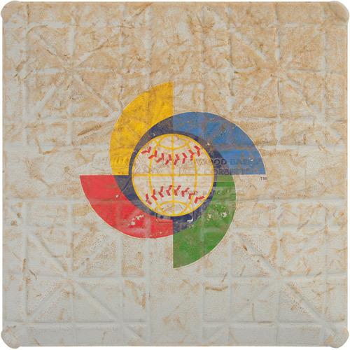 2013 World Baseball Classic: Spain vs. Venezuela - Game-Used 1st Base