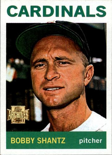 Photo of 2001 Topps Archives #142 Bobby Shantz 64