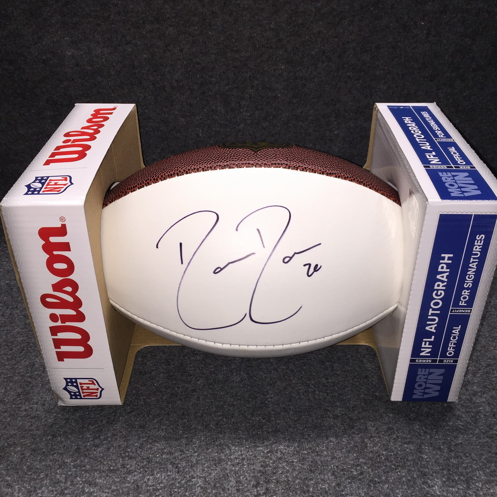 PCF - Jaguars Donovin Darius signed panel ball