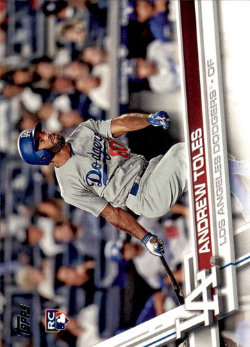 Photo of 2017 Topps #454 Andrew Toles Rookie Card