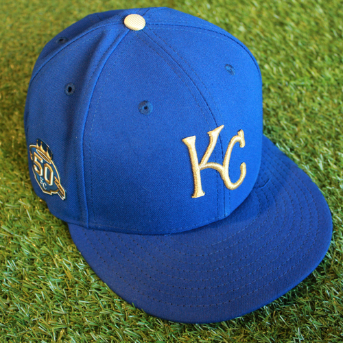 Photo of Game-Used Cap: Ned Yost (Size 7 1/2 - CLE @ KC - 9/28/18)