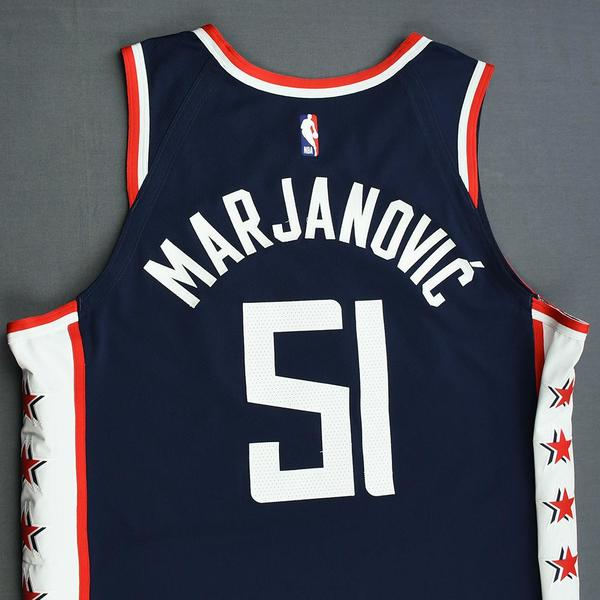 new style 05982 940fa Boban Marjanovic - Los Angeles Clippers - Game-Worn City ...