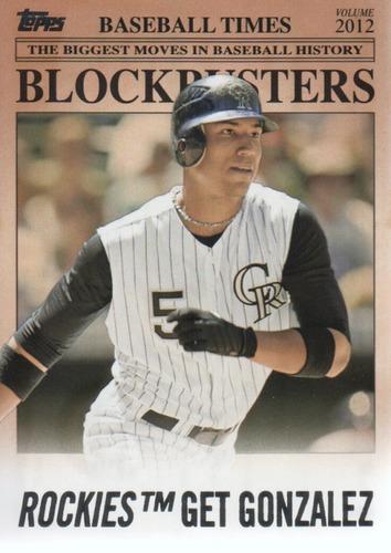 Photo of 2012 Topps Update Blockbusters #BB27 Carlos Gonzalez