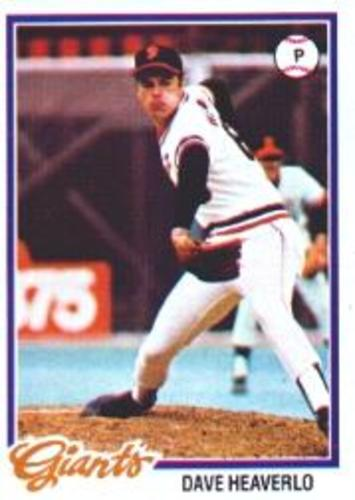 Photo of 1978 Topps #338 Dave Heaverlo