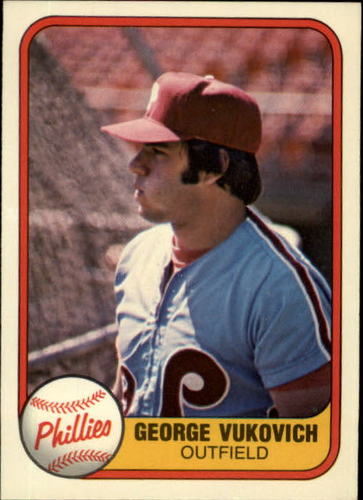 Photo of 1981 Fleer #21 George Vukovich RC