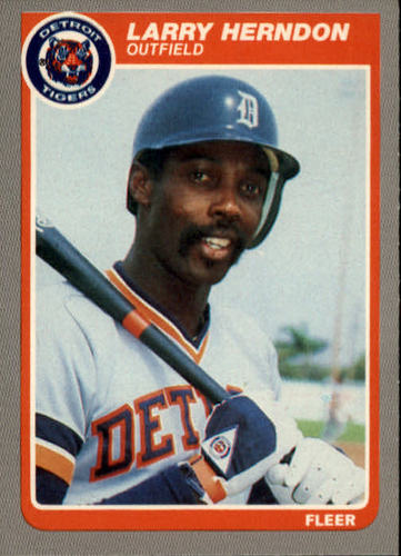 Photo of 1985 Fleer #11 Larry Herndon