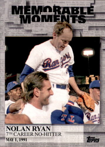 Photo of 2017 Topps Memorable Moments #MM27 Nolan Ryan